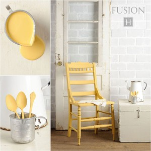 Let the sun shine in with a soft buttery yellow. fusionmineralpaint.com