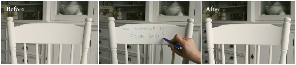 How scrubbable is Fusion™ Mineral Paint? 5