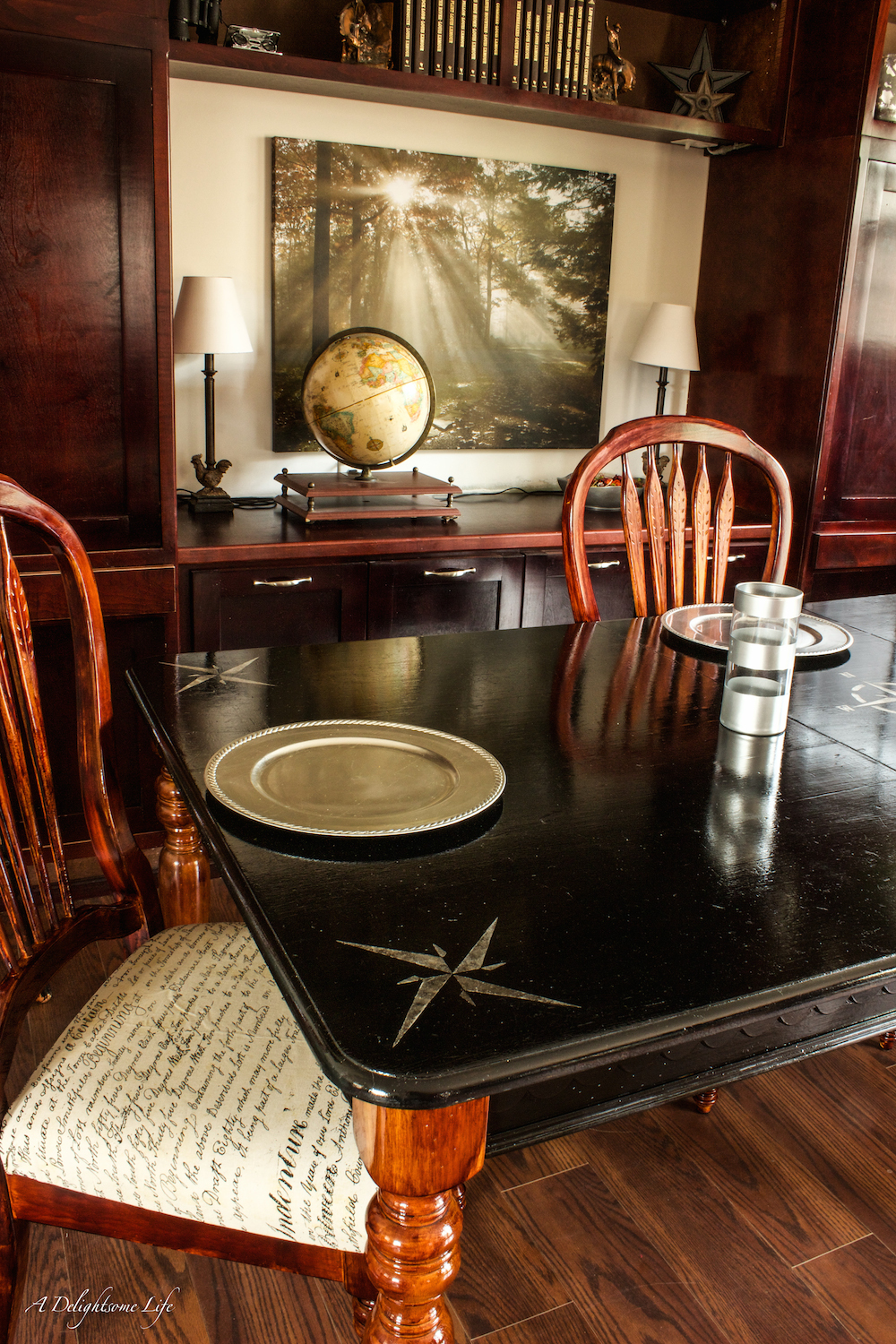 A Dining Table Transformation Fusion Mineral Paint