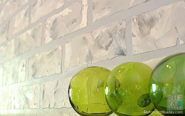 Create Cool, Contemporary Faux Brick Using Fusion Products