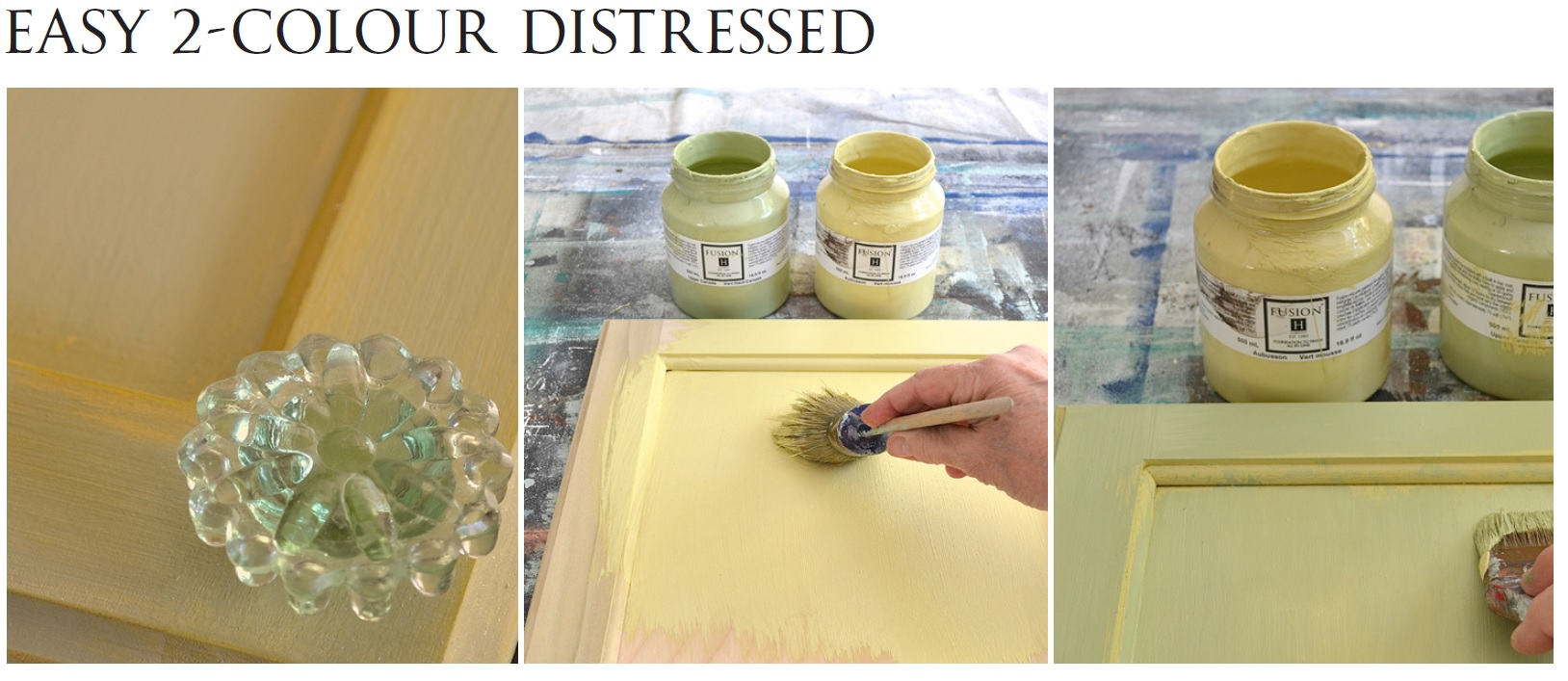 How To Paint Kitchen Cabinets • Fusion™ Mineral Paint