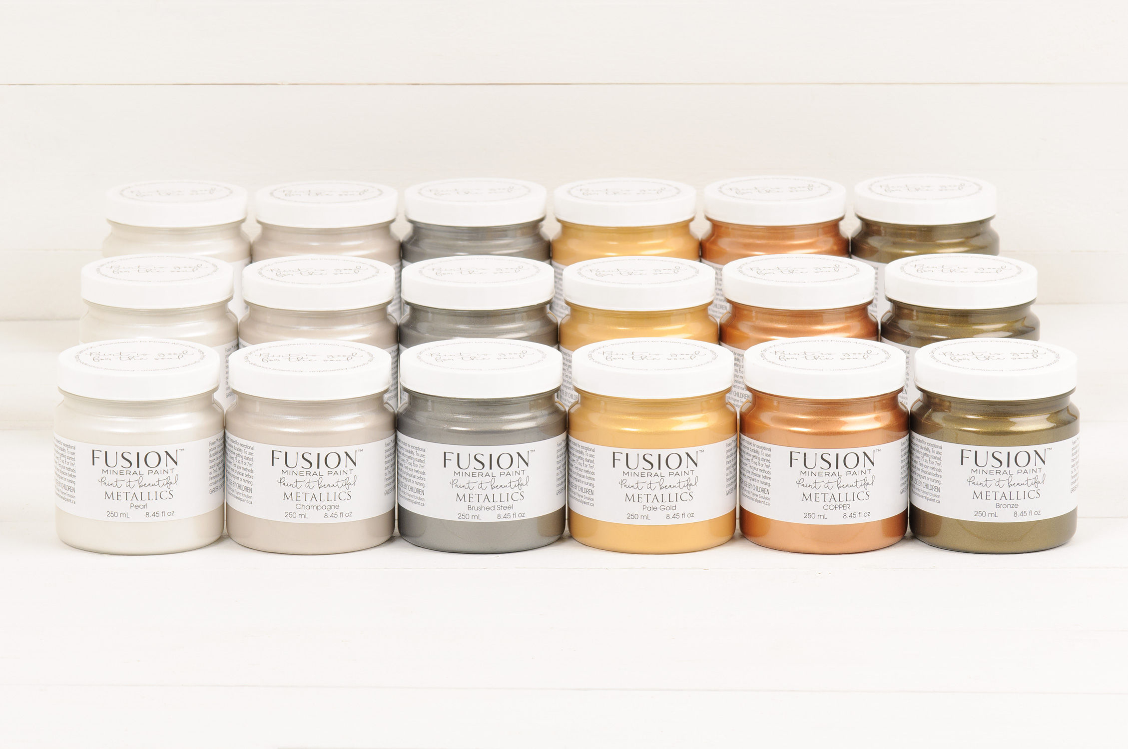 Metallics Fusion Mineral Paint