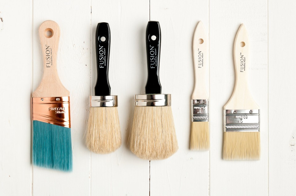 Brushes Fusion Mineral Paint