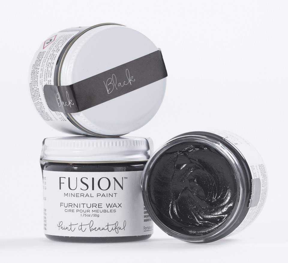 Black Furniture Wax Fusion Mineral Paint