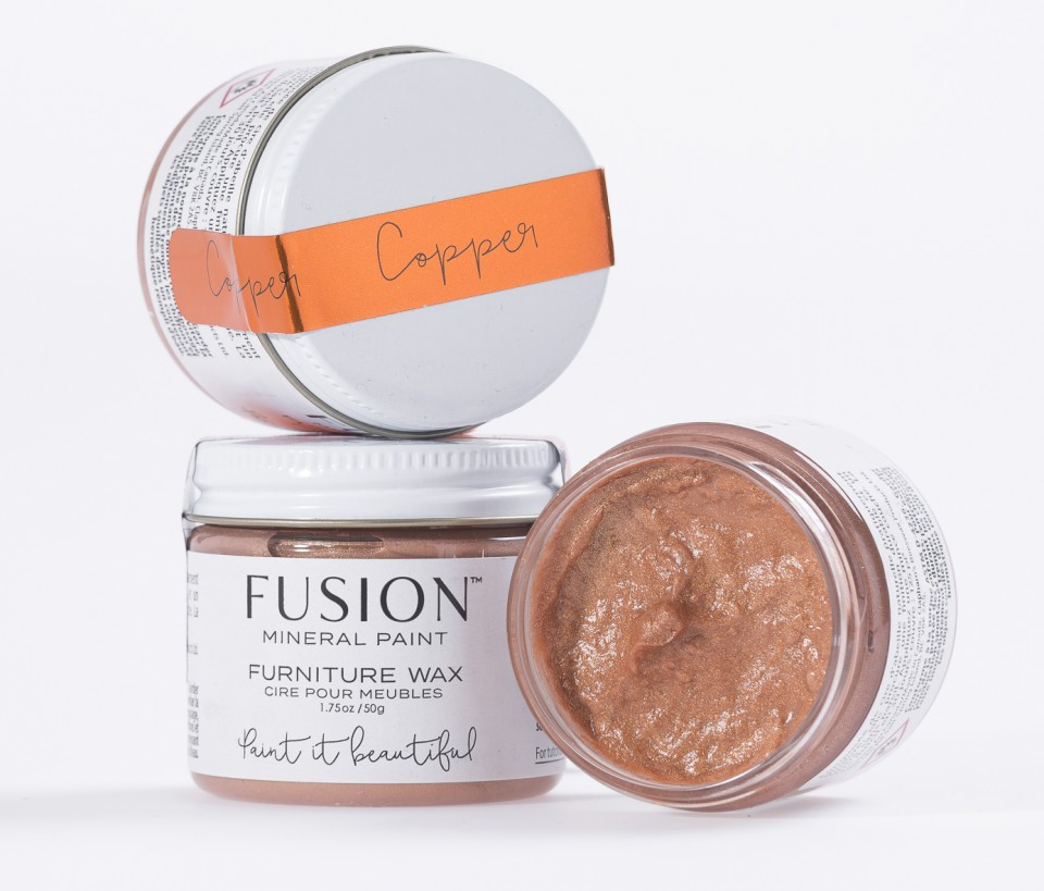 Copper Metallic Furniture Wax Fusion Mineral Paint