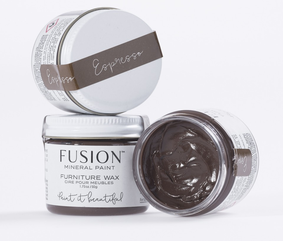 Espresso Furniture Wax Fusion Mineral Paint