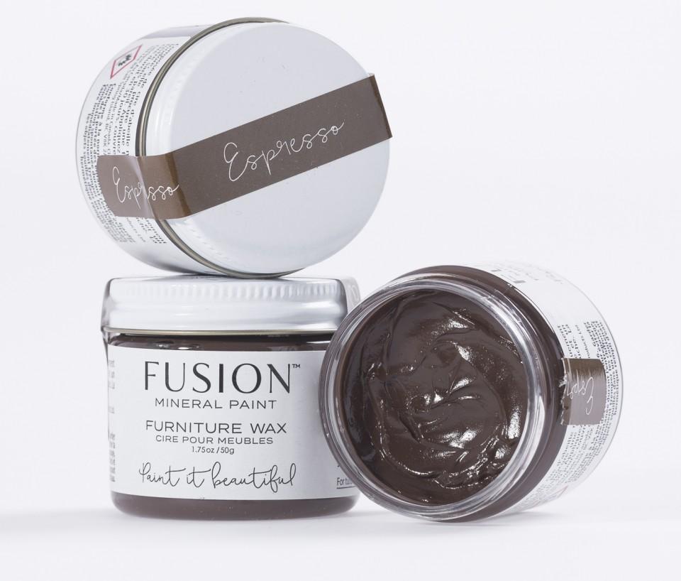 Espresso Furniture Wax Fusion Mineral Paint