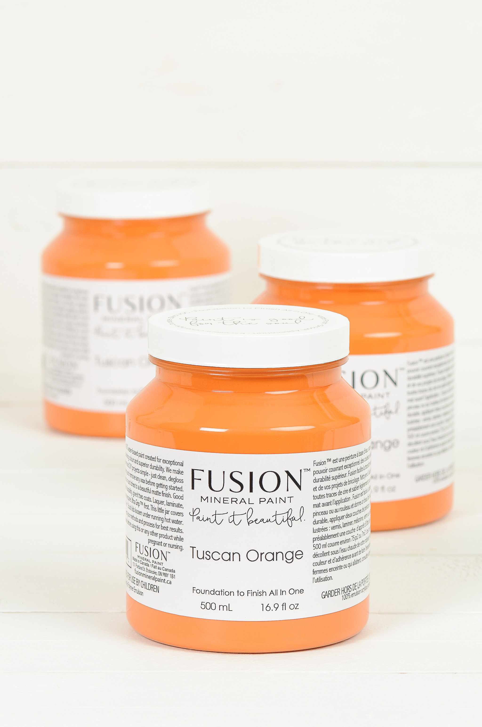Bring A Little Bit Of Italy Into Your Home With Fusion S Tuscan Orange Fusionmineralpaint