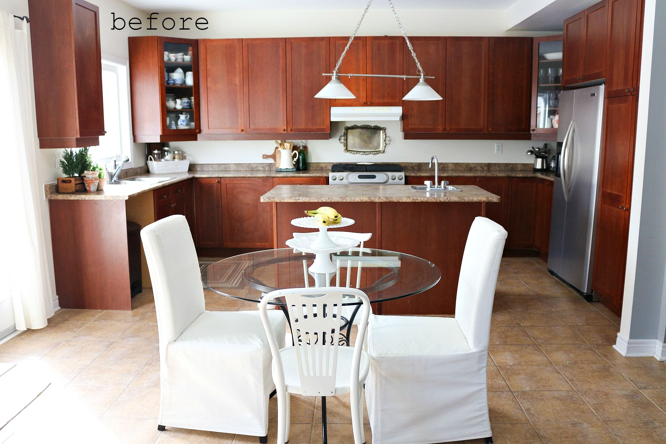 Before Kitchen Makeover with Fusion Mineral Paint. After…