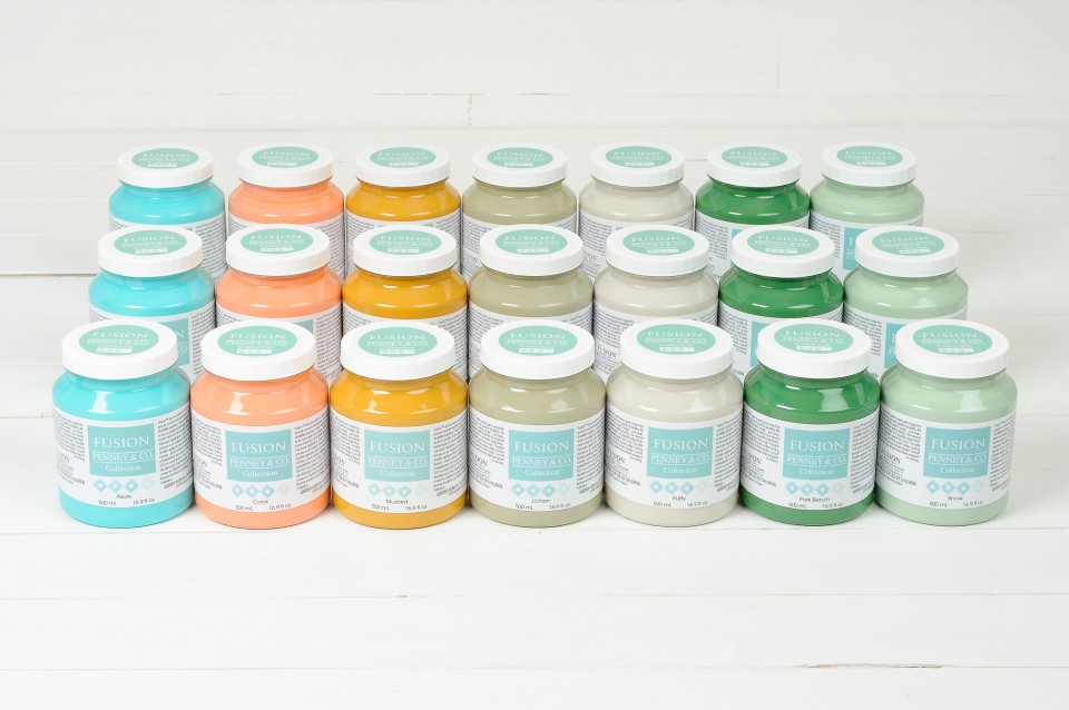 """A fusion rainbow! Colour your space and """"Paint it Beautiful"""" today! fusionmineralpaint.com"""