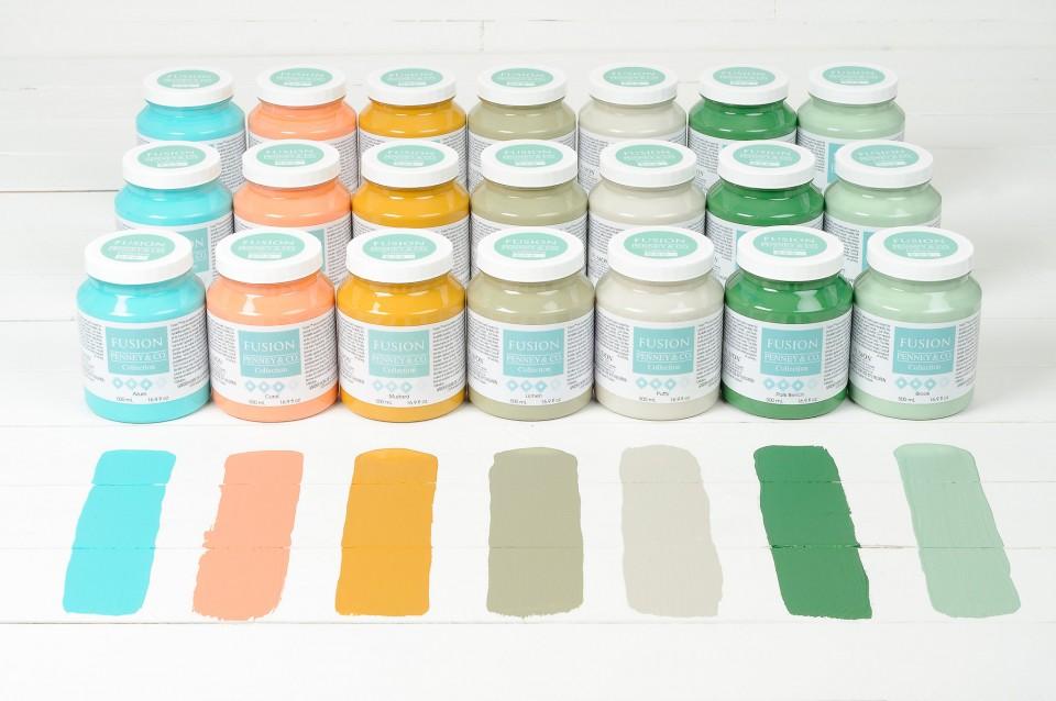 Michael Penney Paint Collection Designer Colours