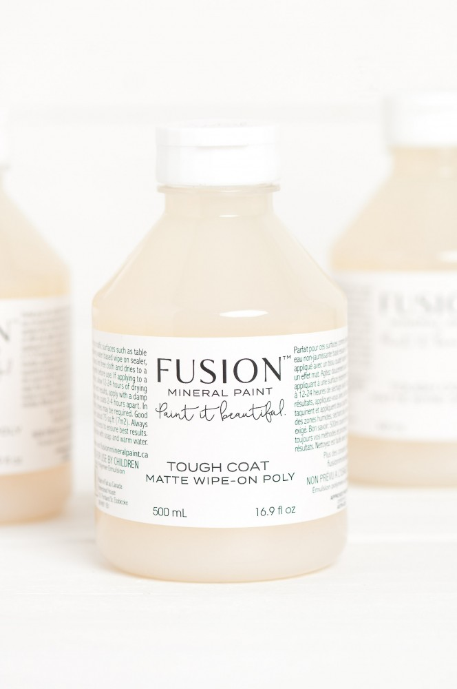 Tough Coat By Fusion Mineral Paint is Super Tough and Non-Yellowing. | fusionmineralpaint.com