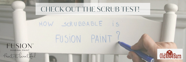 How Scrubbable is Fusion Mineral Paint? | fusionmineralpaint.com