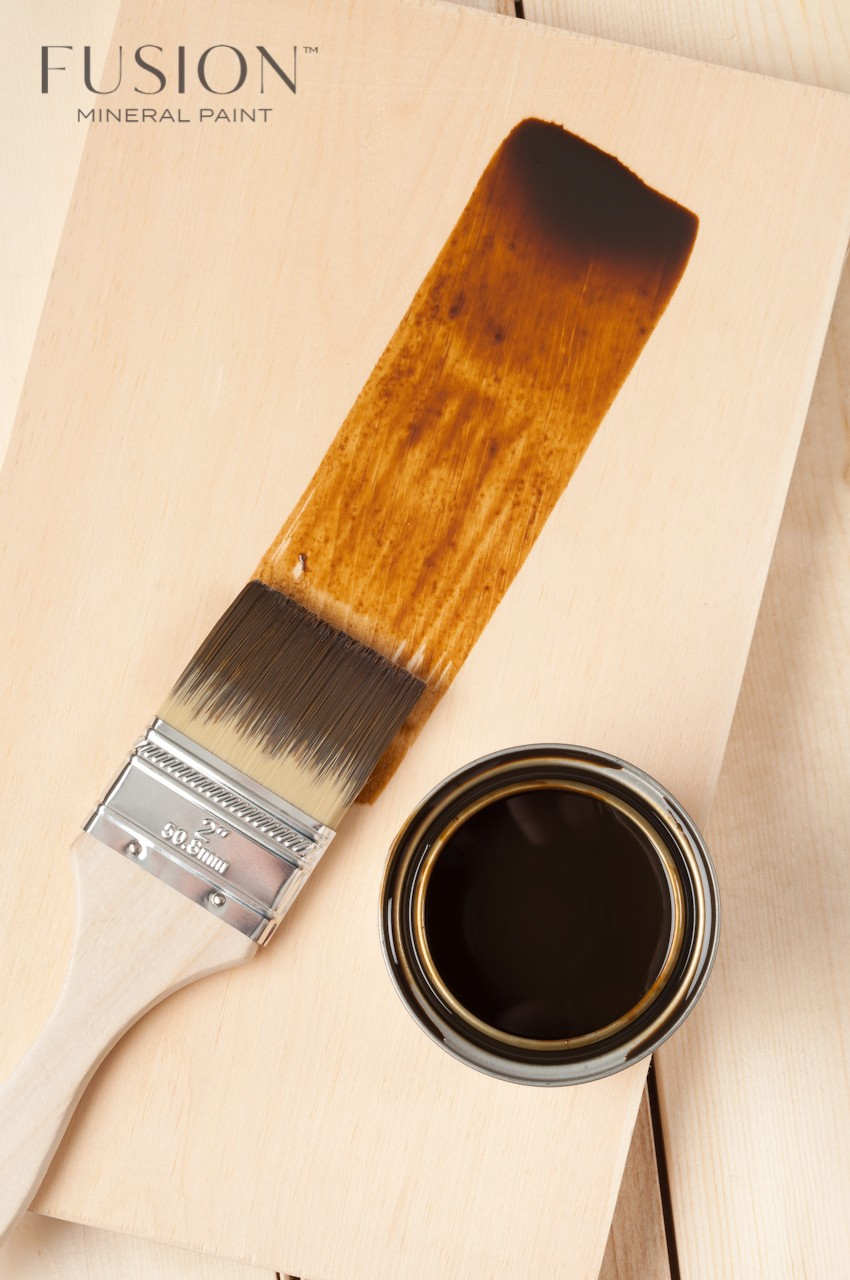 Golden Pine Color Stain & Finishing Oil All in One Top Coat by Fusion Mineral Paint is Eco Friendly with beautiful coverage that is exceptionally durable. 6 Colors to choose from that are eco friendly and easy to use!
