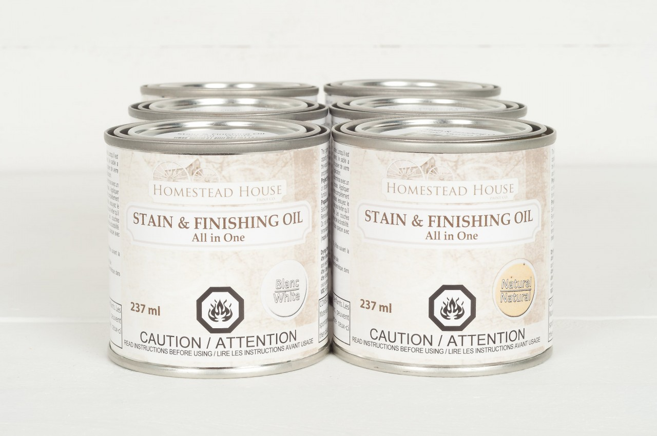 Stain & Finishing Oil All in One Top Coat by Fusion Mineral Paint is Eco Friendly with beautiful coverage that is exceptionally durable. 6 Colors to choose from that are eco friendly and easy to use!