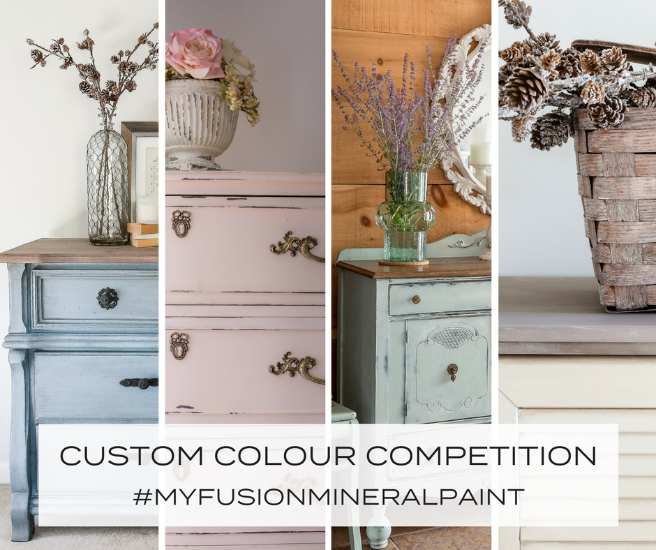 Create your own custom blend colour using Fusion Mineral Paint. | fusionmineralpaint.com