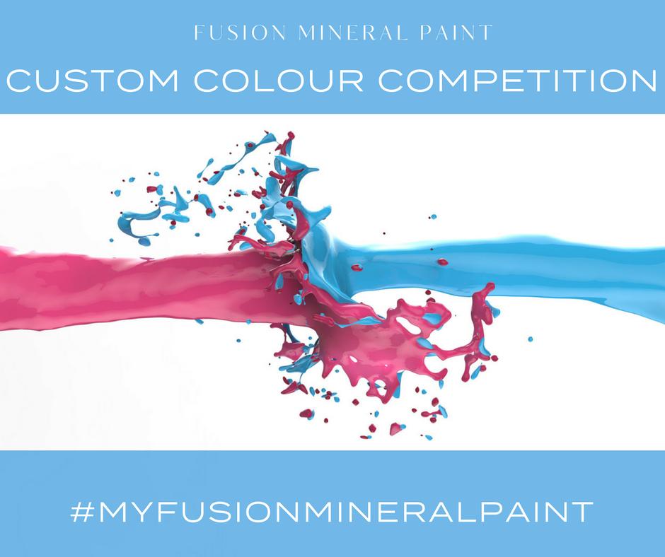 Enter the 2017 Fusion Mineral Paint Custom Colour Competition. | fusionmineralpaint.com