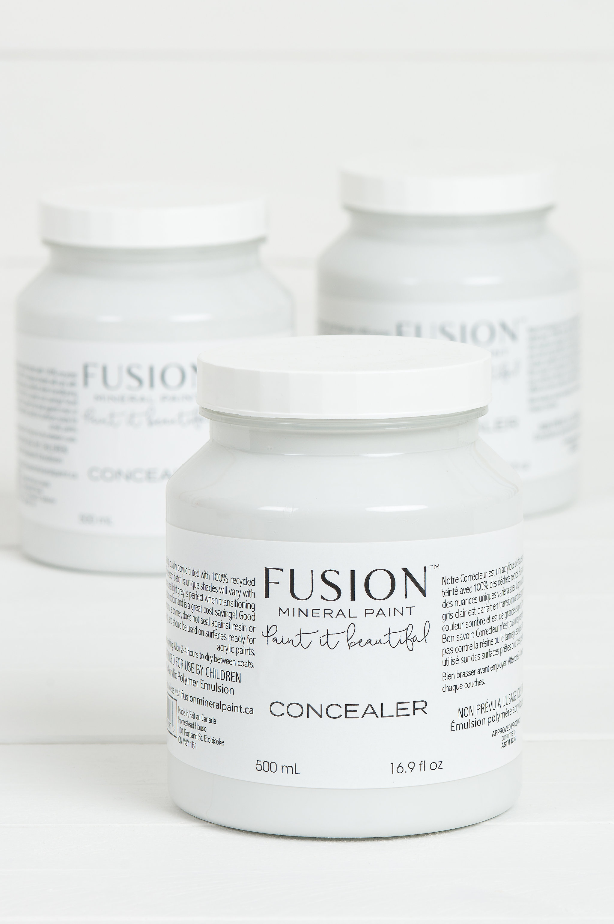 Concealer, your 'Go To' Base Coat. | fusionmineralpaint.com