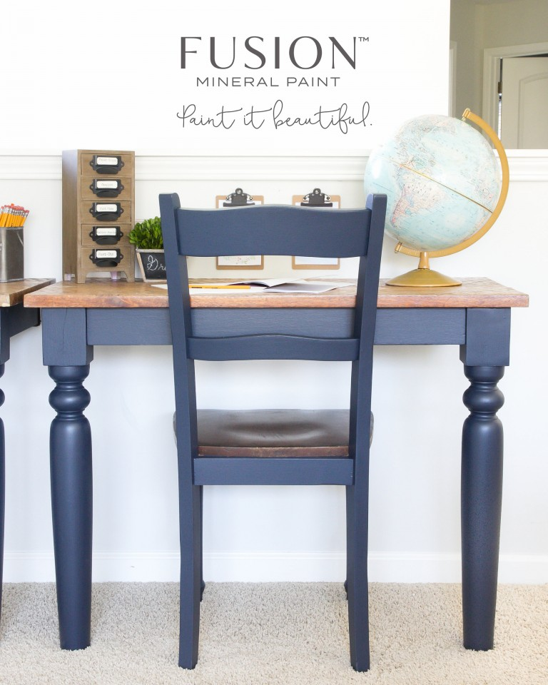 It's TRUE! Blue is the new Black. Our Midnight Blue is hot on trend. fusionmineralpaint.com