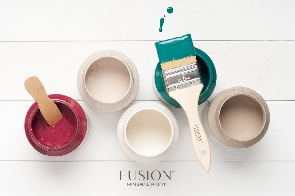 Cathedral Taupe, Renfrew Blue, Raw Silk, Algonquin, Cranberry,Creamy and matte with beautiful coverage. These luscious pots of inspiration are just what you need for your DIY projects. fusionmineralpaint.com