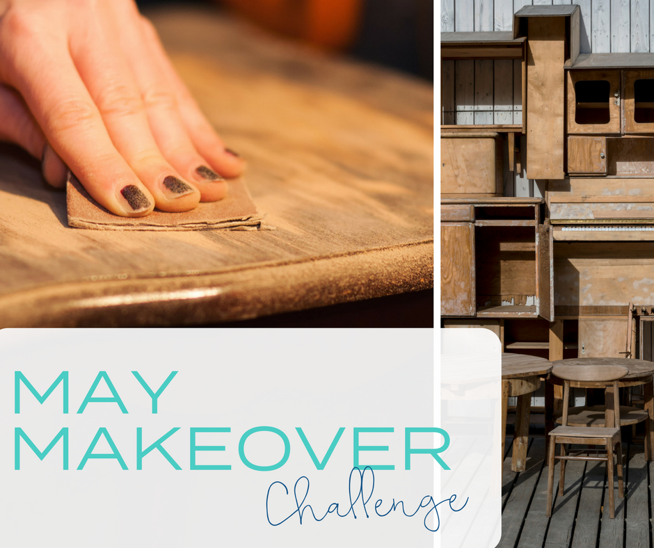 May Makeover CHallenge. Win Fusion Mineral Paint