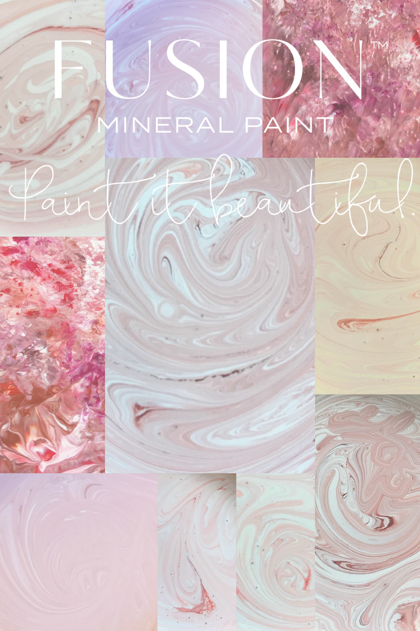 Pink Paint Colour Fusion Mineral Paint