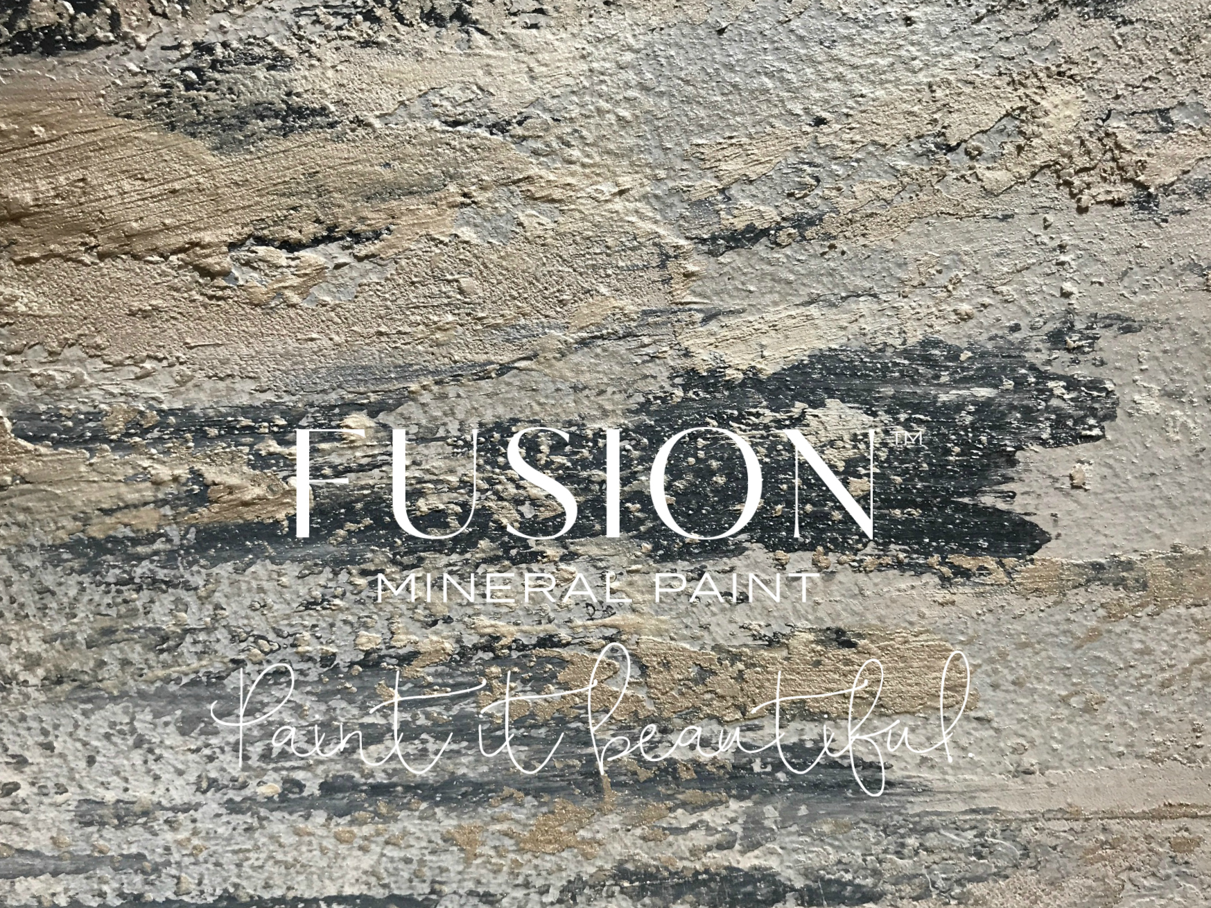 How to create textured vintage walls fusion mineral paint for Mineral wall