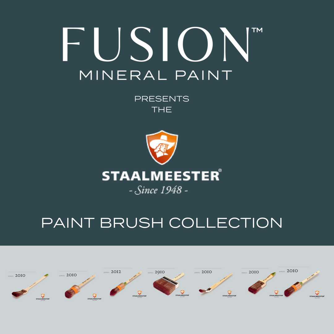 Fusion Mineral Paint Presents the Staalmeester Curated Collection. | fusionmineralpaint.com