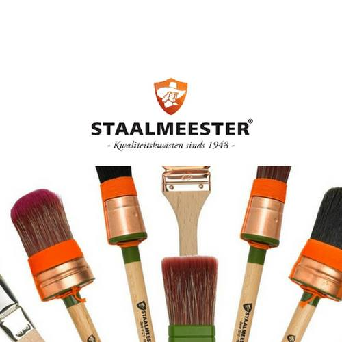 Selection of Staalmeester Brushes. | fusionmineralpaint.com