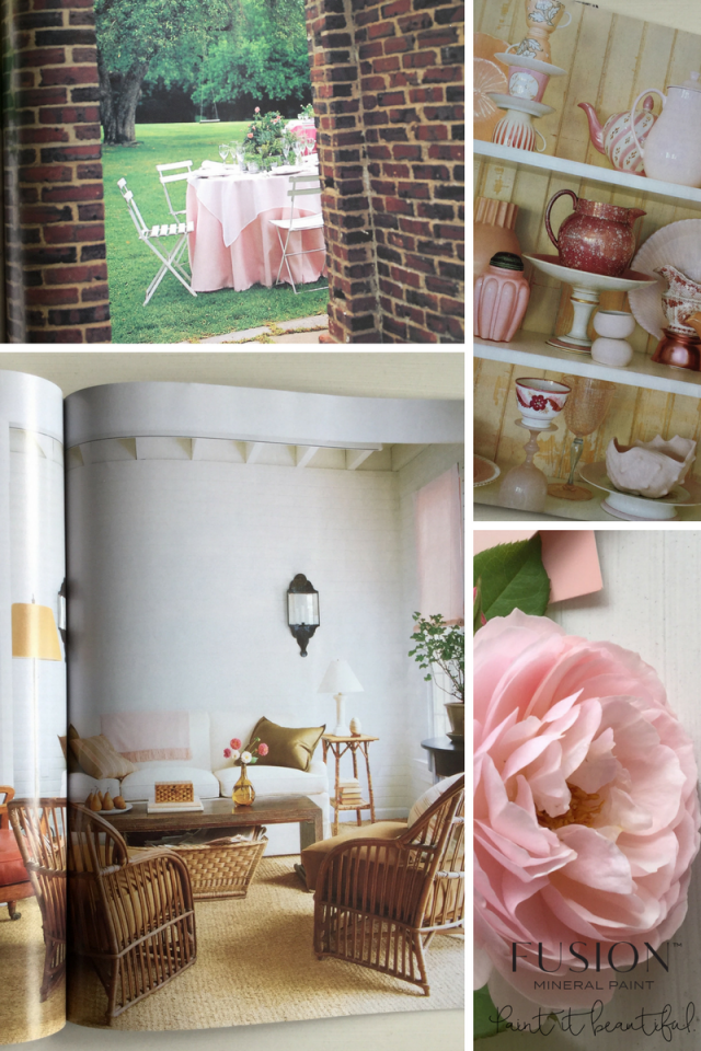Pink inspiration for the Penney & Co collection from Fusion. | fusionmineralpaint.com