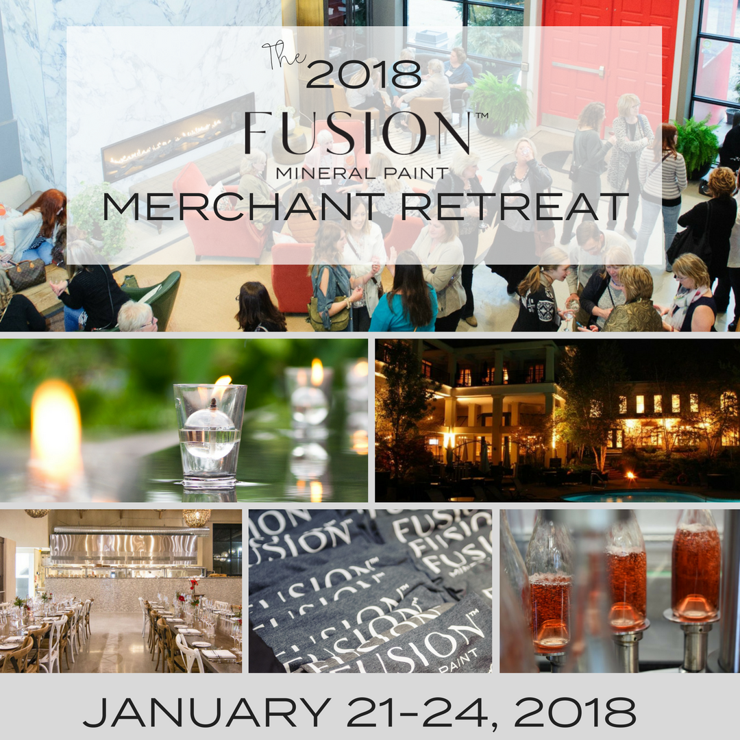 The Fusion Mineral paint merchant Retreat and Conference 2018 Montage header. | fusionimeralpaint.com