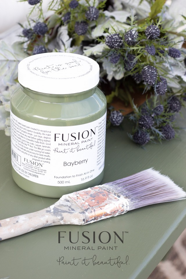 Bayberry from Fusion Mineral Paint is the perfect hue of green. | fusionmineralpaint.com