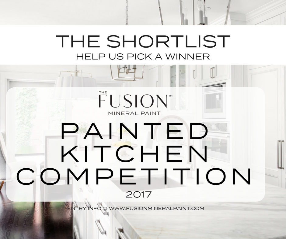 VOTE FOR THE WINNER OF THE FUSION PAINTED KITCHEN COMPETITION 2017. | fusionmineralpaint.com