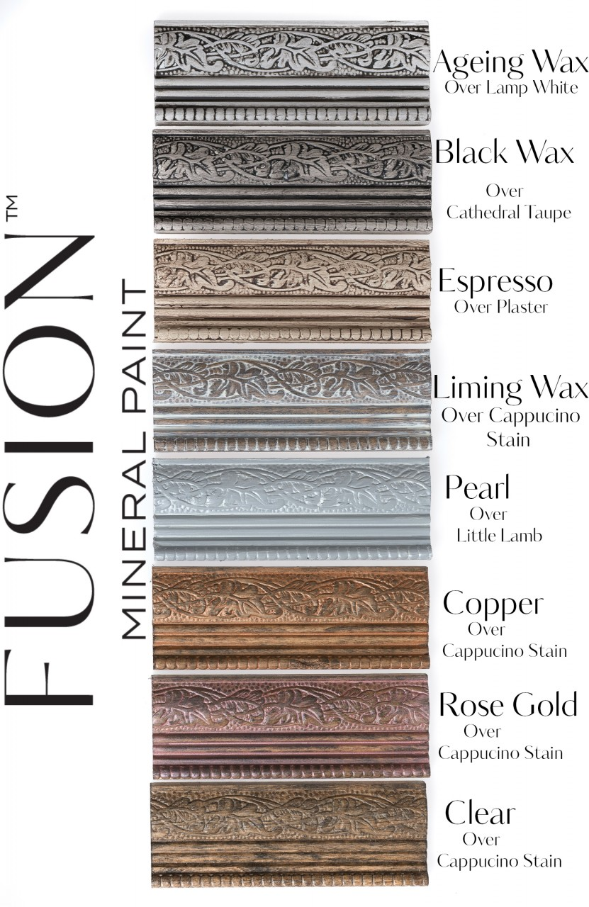 Fusion Furniture Wax Finishes