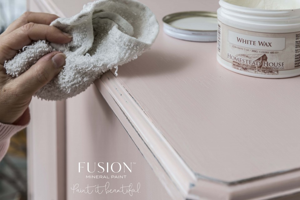 How To Use Furniture Wax Fusion Mineral Paint