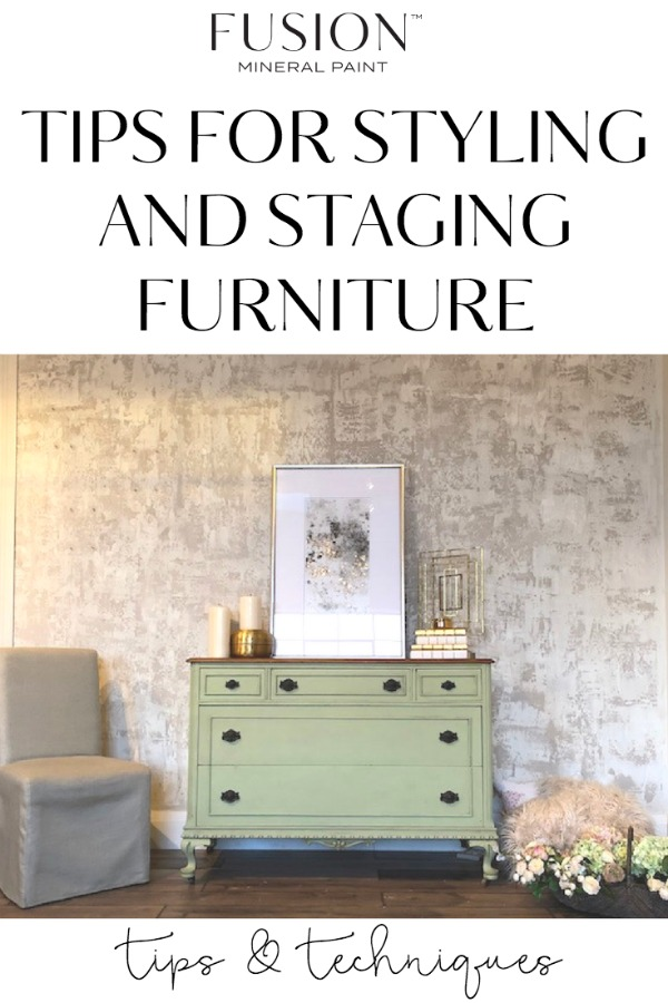 Staging Furniture For Sale >> Tips On Styling And Staging Furniture Fusion Mineral Paint