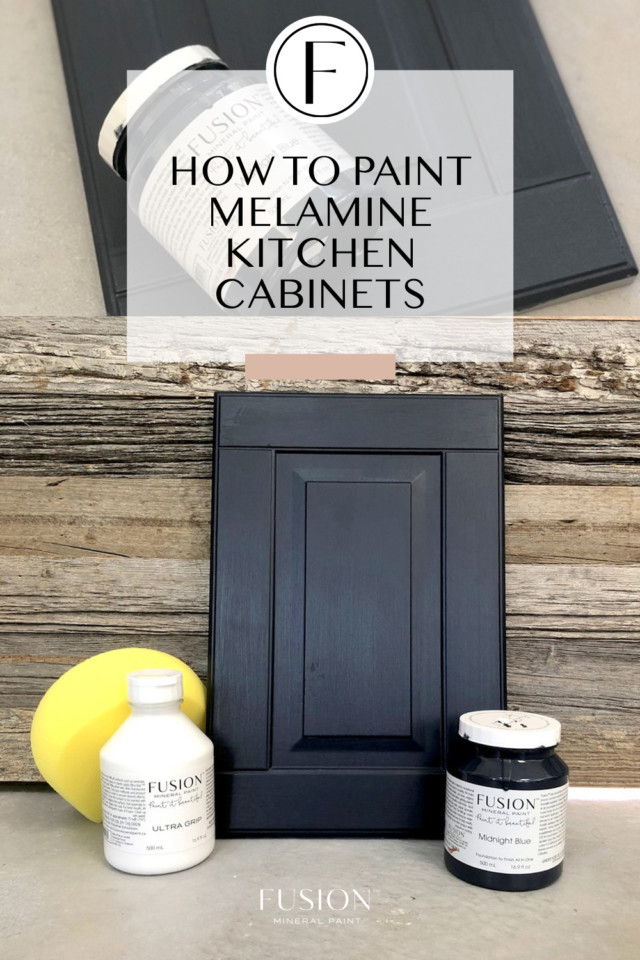 How To Paint Melamine Kitchen Cabinets Fusion Mineral Paint