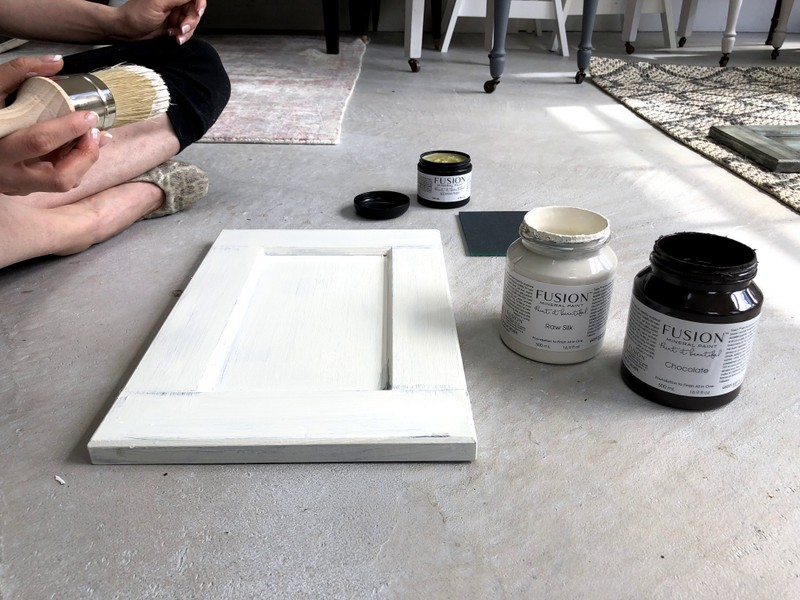 Shabby Chic Kitchen Cabinets • Fusion™ Mineral Paint