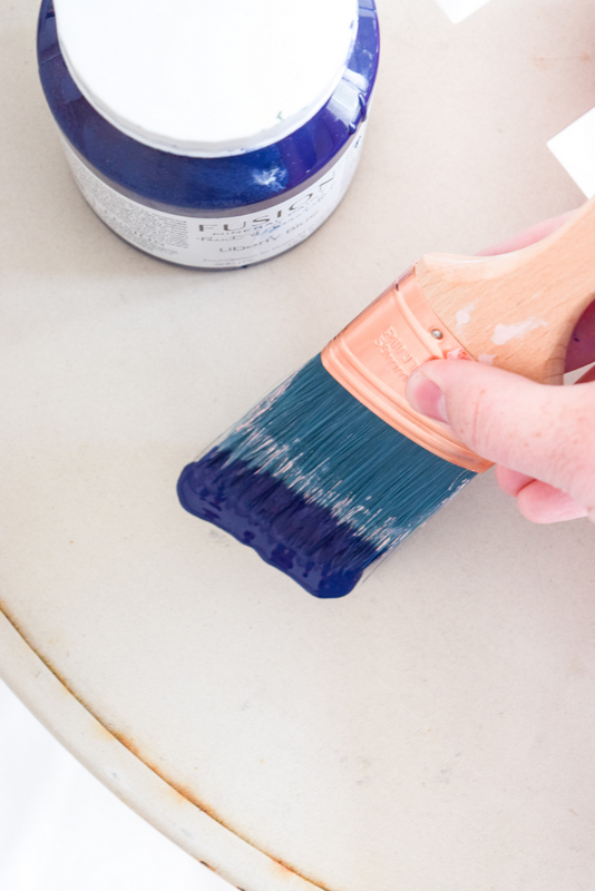 Diy Ikea Patio Table Fusion Mineral Paint