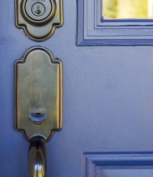 How To Paint Your Front Door With Fusion Mineral Paint