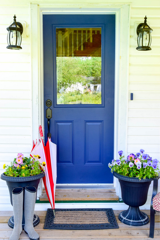How To Paint Your Front Door With Fusion Mineral