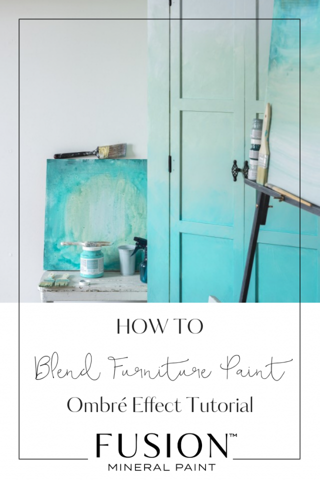 So Today We Are Going To Be Showing You How Create An Ombré Look On Armoire If Don T Have But Would Like Recreate The