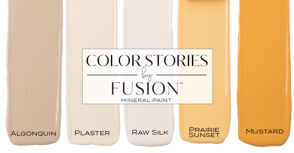 Fusion Mineral Paint March Color Story