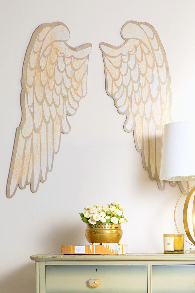 How to make angel wing art with Fusion Mineral Paint