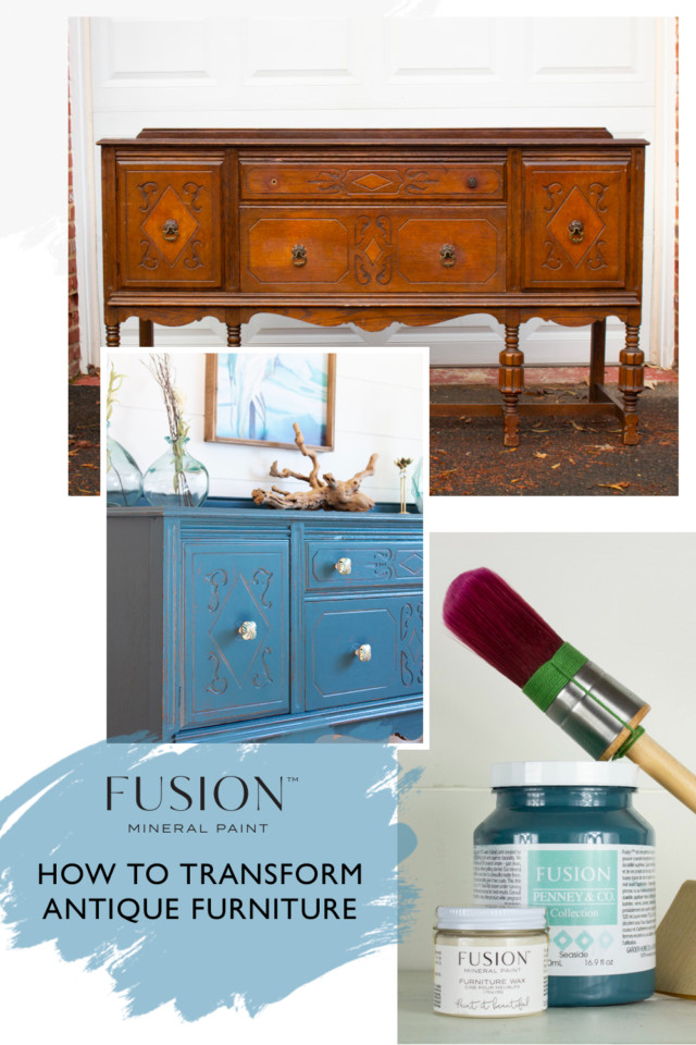 How to transform Antique Furniture with Fusion Mineral Paint