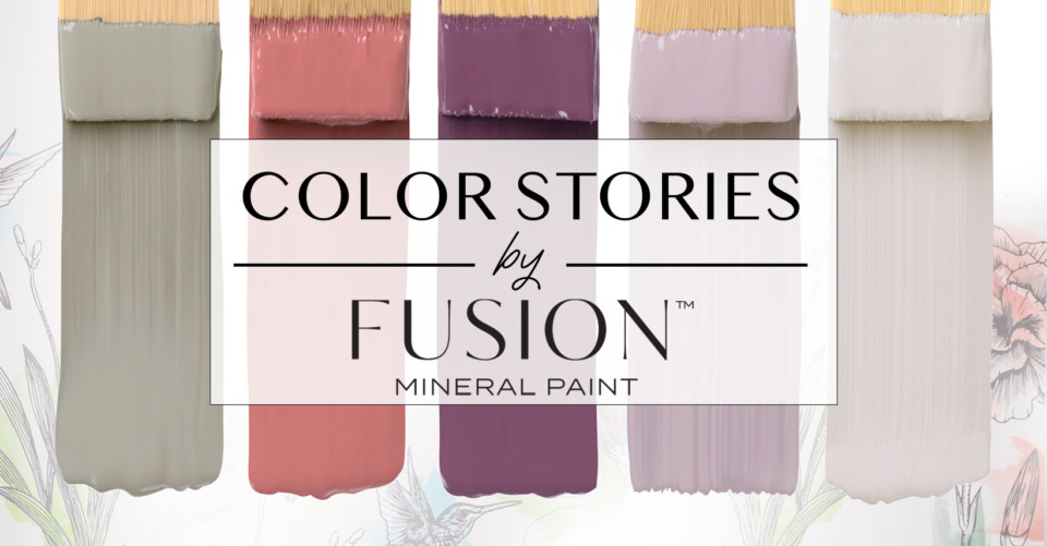 July S Color Story For Fusion Mineral Paint A Focus On