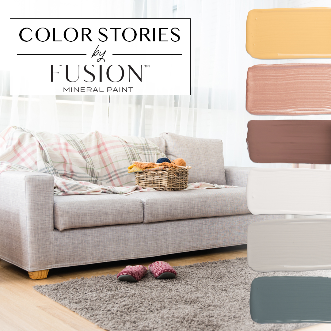 Explore Colors Gold Fusion: September's Fusion Mineral Paint Color Story • Fusion