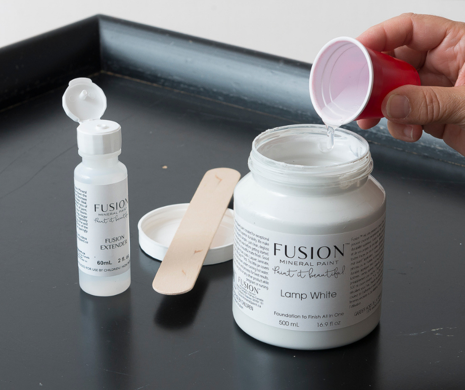 Extender to eliminate brushstokes - Fusion Mineral Paint