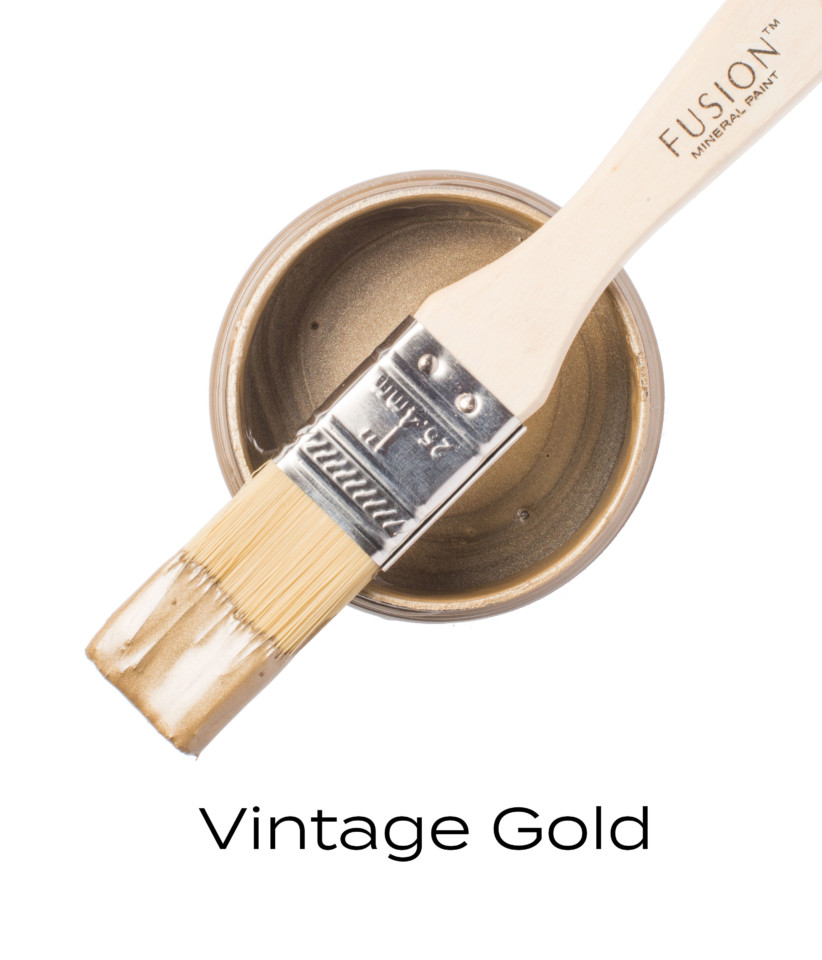 Vintage Gold from Fusion Mineral Paint