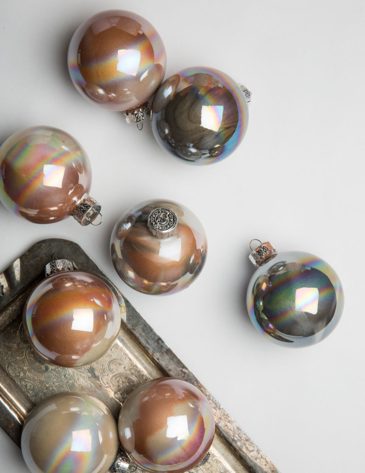 DIY how to paint ornaments the easy way